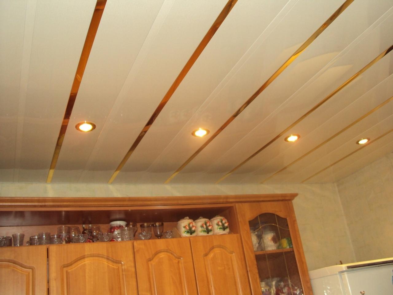 Как сделать панельный потолок