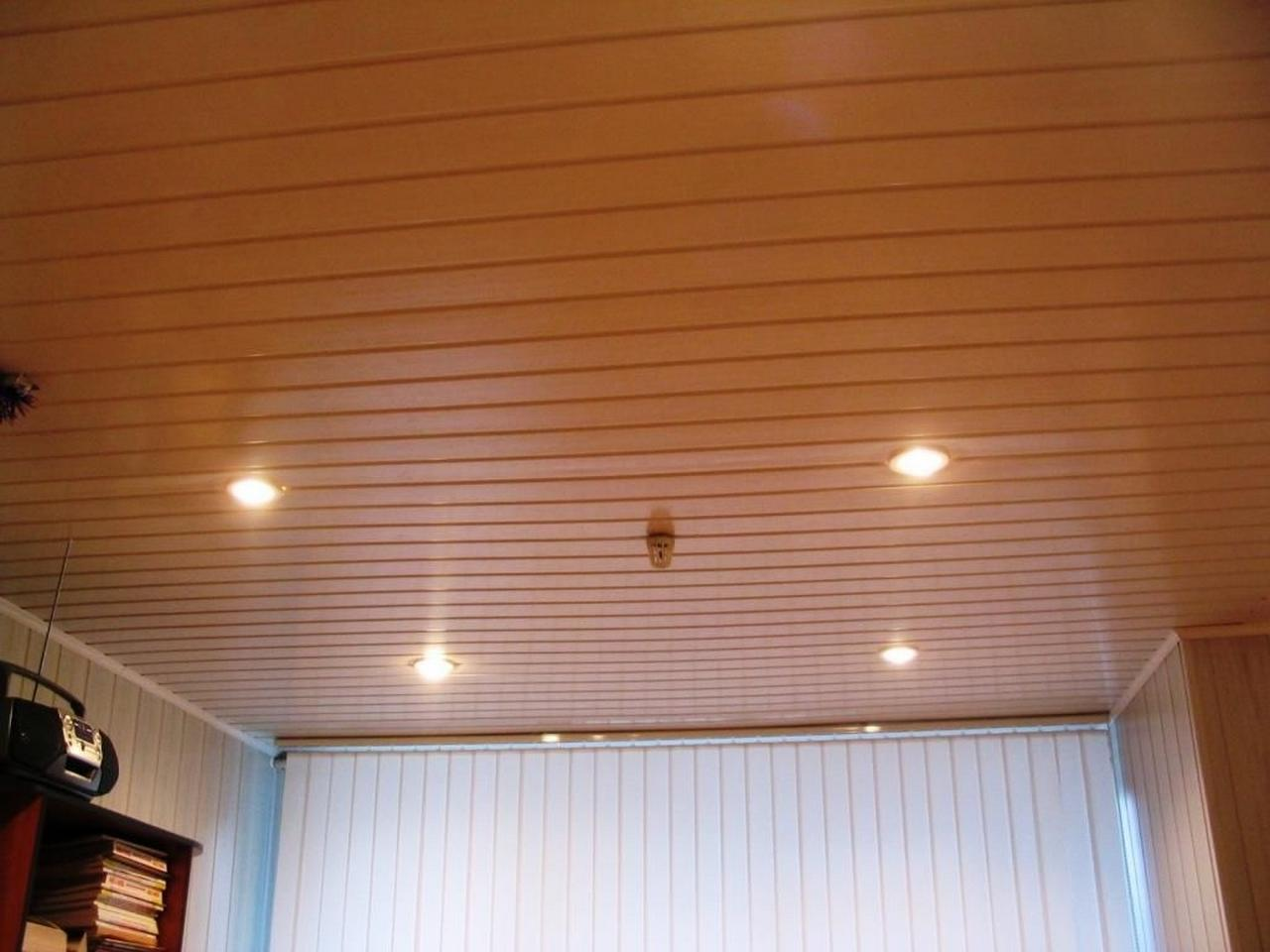 Потолок из вагонки в квартире своими руками