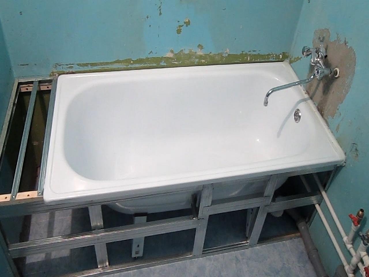 Изготовление акриловая ванна своими руками 68